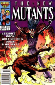 The New Mutants (1st Series) 1983 - 1991 #44