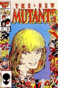 The New Mutants (1st Series) 1983 - 1991 #45