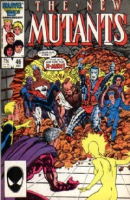 The New Mutants (1st Series) 1983 - 1991 #46