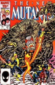 The New Mutants (1st Series) 1983 - 1991 #47