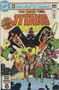 The New Teen Titans (1st Series) 1980 - 1988 #1