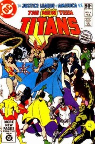 The New Teen Titans (1st Series) 1980 - 1988 #4