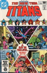 The New Teen Titans (1st Series) 1980 - 1988 #8