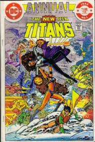 The New Teen Titans (1st Series) Annual 1982 #1