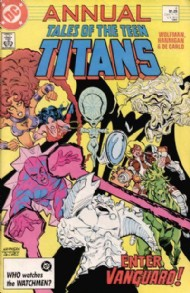 The New Teen Titans (1st Series) Annual 1982 #4