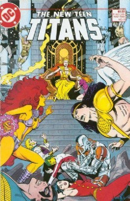 The New Teen Titans (2nd Series) #8