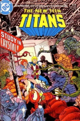 The New Teen Titans (2nd Series) #10