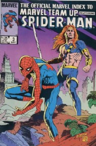 The Official Marvel Index to Marvel Team-Up 1986 - 1987 #3