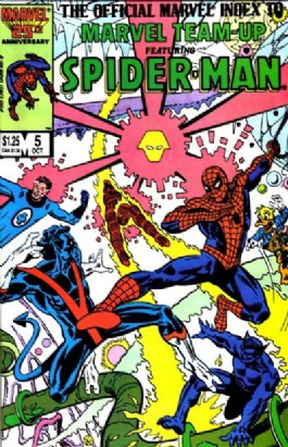 The Official Marvel Index to Marvel Team-Up #5