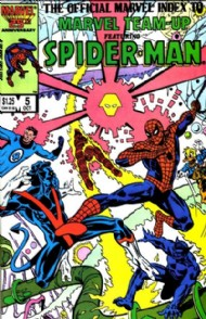 The Official Marvel Index to Marvel Team-Up 1986 - 1987 #5