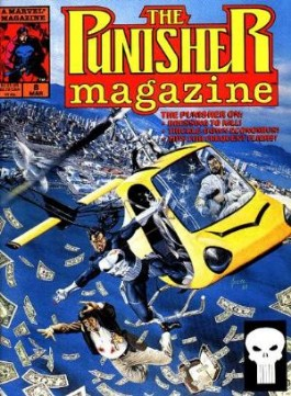 The Punisher Magazine #8
