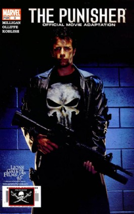 The Punisher: Offficial Movie Adaptation #3