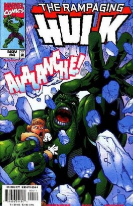 The Rampaging Hulk (2nd Series) #4
