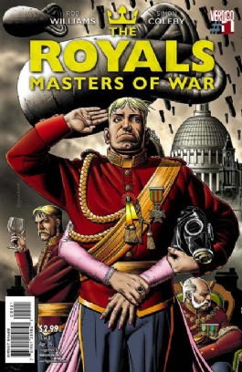The Royals: Masters of War #1