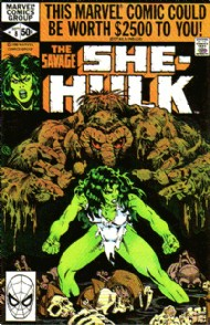 The Savage She-Hulk (1st Series) 1980 - 1982 #8