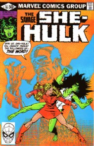 The Savage She-Hulk (1st Series) 1980 - 1982 #10