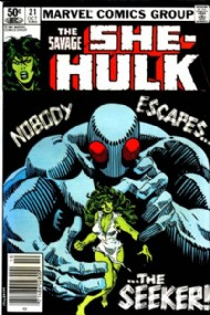 The Savage She-Hulk (1st Series) 1980 - 1982 #21