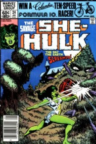 The Savage She-Hulk (1st Series) 1980 - 1982 #24
