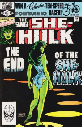 The Savage She-Hulk (1st Series) #25