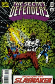 The Secret Defenders 1993 - 1995 #21
