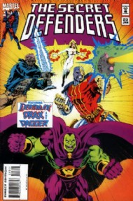 The Secret Defenders 1993 - 1995 #23