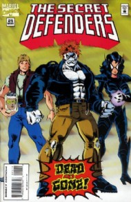 The Secret Defenders 1993 - 1995 #25