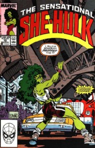The Sensational She-Hulk (2nd Series) 1989 - 1994 #10