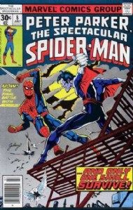 The Spectacular Spider-Man (1st Series) 1976 - 1998 #8