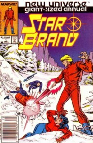 The Star Brand Annual 1987 #1