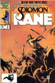 The Sword of Solomon Kane 1985 - 1986 #5