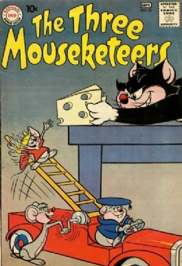 The Three Mouseketeers (1st Series) #25
