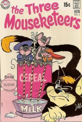 The Three Mouseketeers (2nd Series) #2