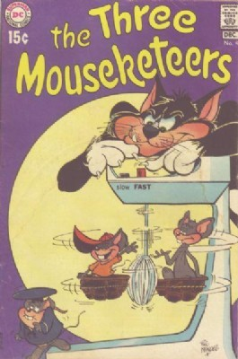 The Three Mouseketeers (2nd Series) #4