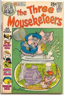 The Three Mouseketeers (2nd Series) #6