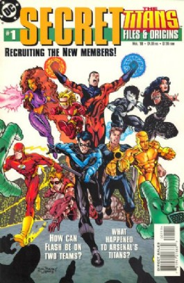 The Titans Secret Files and Origins #1