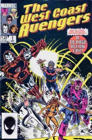 The West Coast Avengers (2nd Series) 1985 - 1989 #1