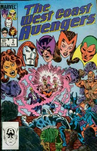 The West Coast Avengers (2nd Series) 1985 - 1989 #2