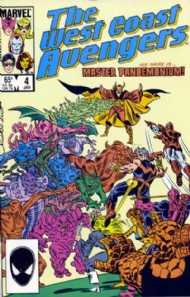 The West Coast Avengers (2nd Series) 1985 - 1989 #4