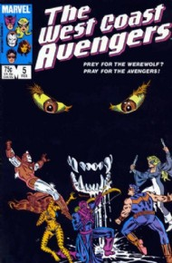 The West Coast Avengers (2nd Series) 1985 - 1989 #5