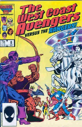 The West Coast Avengers (2nd Series) #8