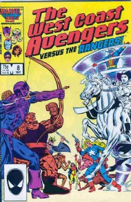The West Coast Avengers (2nd Series) 1985 - 1989 #8