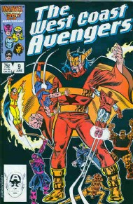 The West Coast Avengers (2nd Series) 1985 - 1989 #9