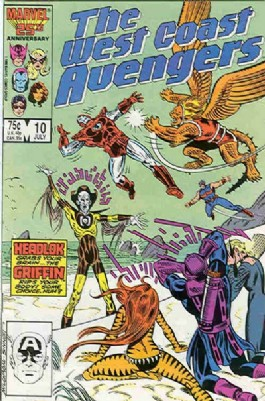 The West Coast Avengers (2nd Series) #10