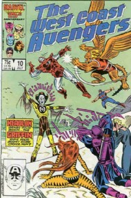 The West Coast Avengers (2nd Series) 1985 - 1989 #10