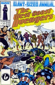 The West Coast Avengers Annual 1986 #2