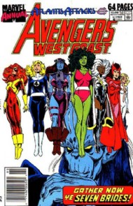The West Coast Avengers Annual 1986 #4