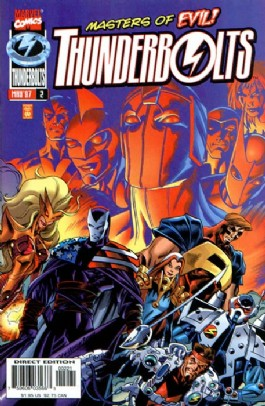 Thunderbolts (1st Series) #2