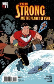 Tom Strong and the Planet of Peril 2013 - 2014 #1