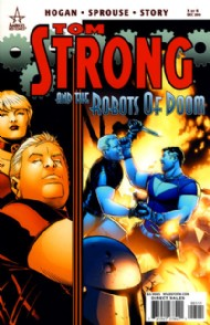 Tom Strong and the Robots of Doom 2010 #5