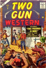 Two-Gun Western (3rd Series) 1956 - 1957 #9